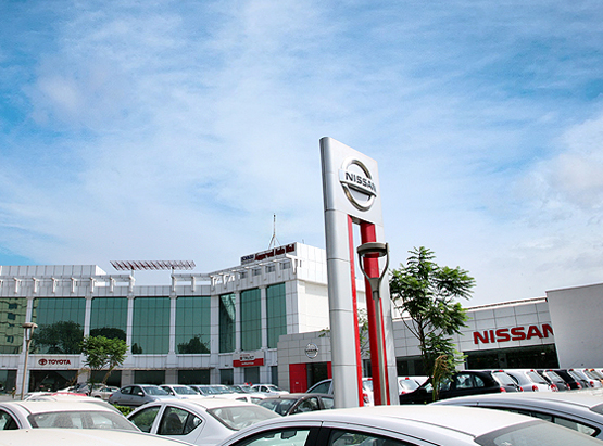 Automobile Retail Showroom in Delhi– Unity Nissan